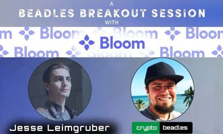Bloom Crypto (BLT) Co-Founder Jesse Leimgruber and Global Credit