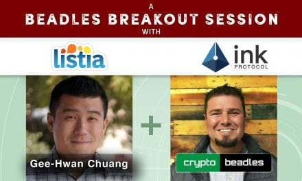 Fun Interview with Listia and XNK Ink Protocol Ceo Gee Chuang A Beadles Breakout Session