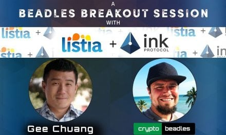 Crypto Update (XNK) Ink Protocol, Listia and Ink Pay with Gee-Hwan Chuang