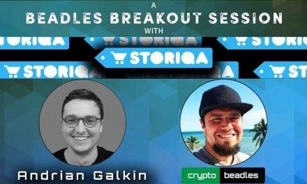 Storiqa (STQ)  Co-Founder Andrian Galkin Crypto Biz To Disrupt Online Shopping