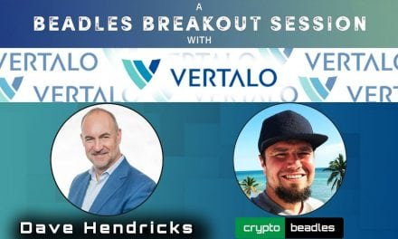 Vertalo (VEST) CEO Dave Hendricks Talks biz (Crypto) (TALO)