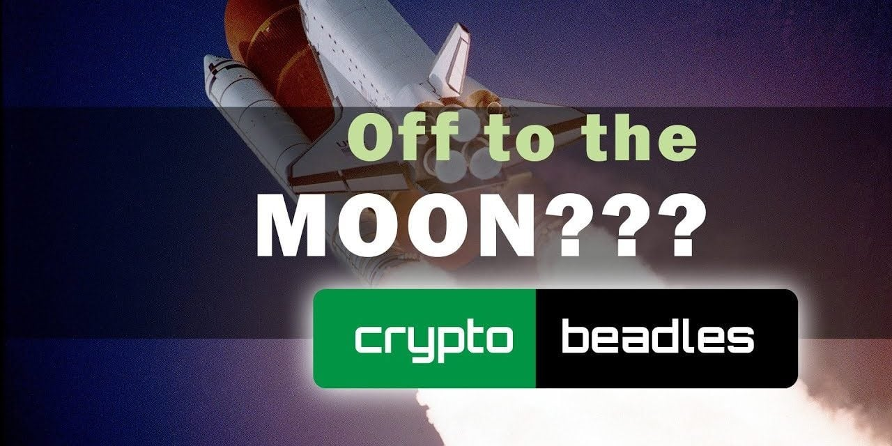Bitcoin and Cryptos off to the Moon??
