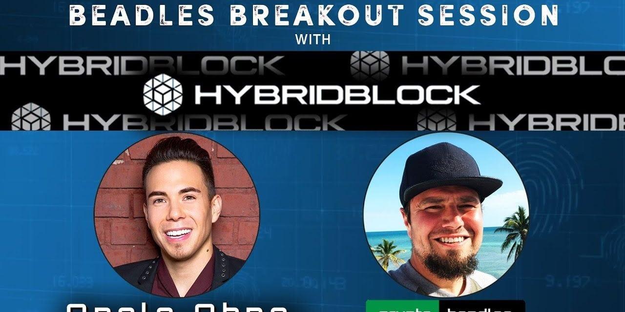 WOW Olympic Legend Apolo Ohno and his Crypto Company HybridBlock