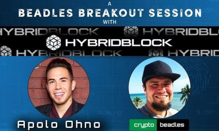 WOW Olympic Legend Apolo Ohno and his Crypto Company HybridBlock