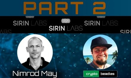 (SRN) SIRIN LABS Crypto Phone UPDATE from the Amazing Nimrod May