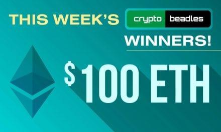 Winna Winna Etha Dinna This Weeks Crypto Ethereum Winners