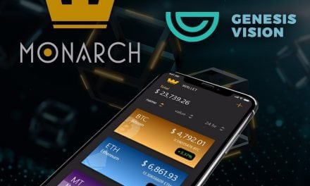 Monarch Blockchain Corp Partners With Genesis Vision (GVT) for Creating the First Blockchain Based, Fully Automated, Dollar Cost Averaging Investing System for Retail Crypto Investors