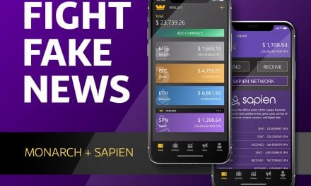 Sapien (SPN) Adopts Monarch For Cold Storage Wallet And Fiat Gateway