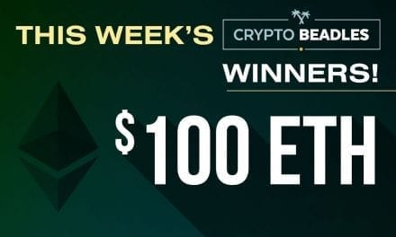 This weeks Crypto Winners $600