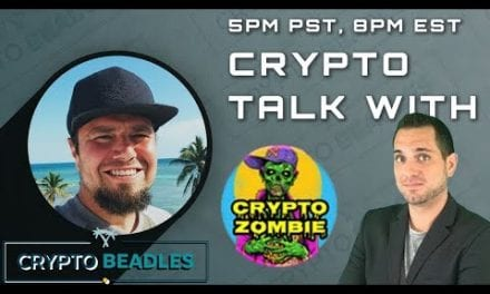 Whats up with Crypto? Live with Crypto Zombie, bring your questions!