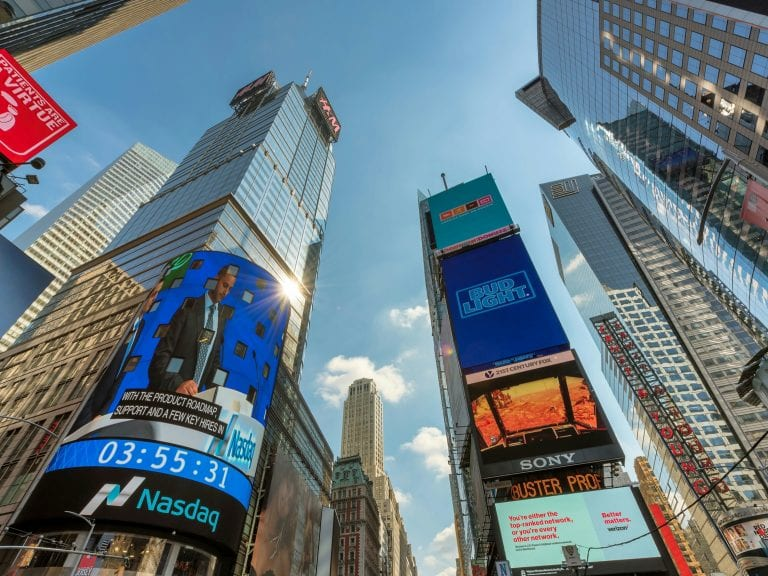 Nasdaq Stock Exchange to Start Offering BTC and ETH Indices