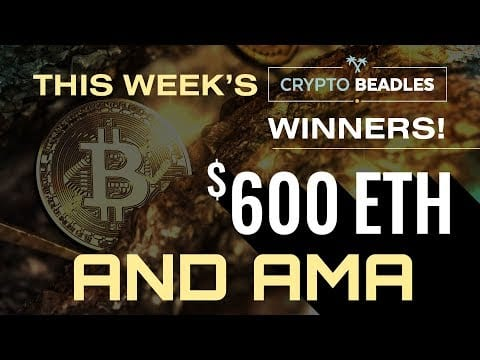 LIVE!! $600 Giveaways, Bitcoin, Blockchain, Max Keiser, IOST, STORJ, Totle, Salt Updates and AMA