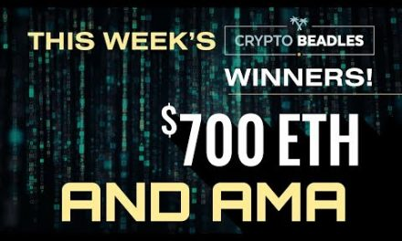 LIVE! $700 Giveaways, Crypto, Blockchain,Theta, Sirin, Live giveaways and more!