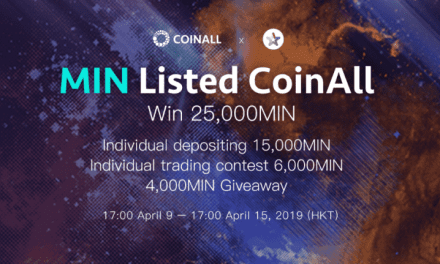PR: CoinAll lists MINDOL and Offers a 25,000 MIN Giveaway