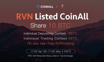 PR: CoinAll Lists Ravencoin With 10 BTC Giveaway