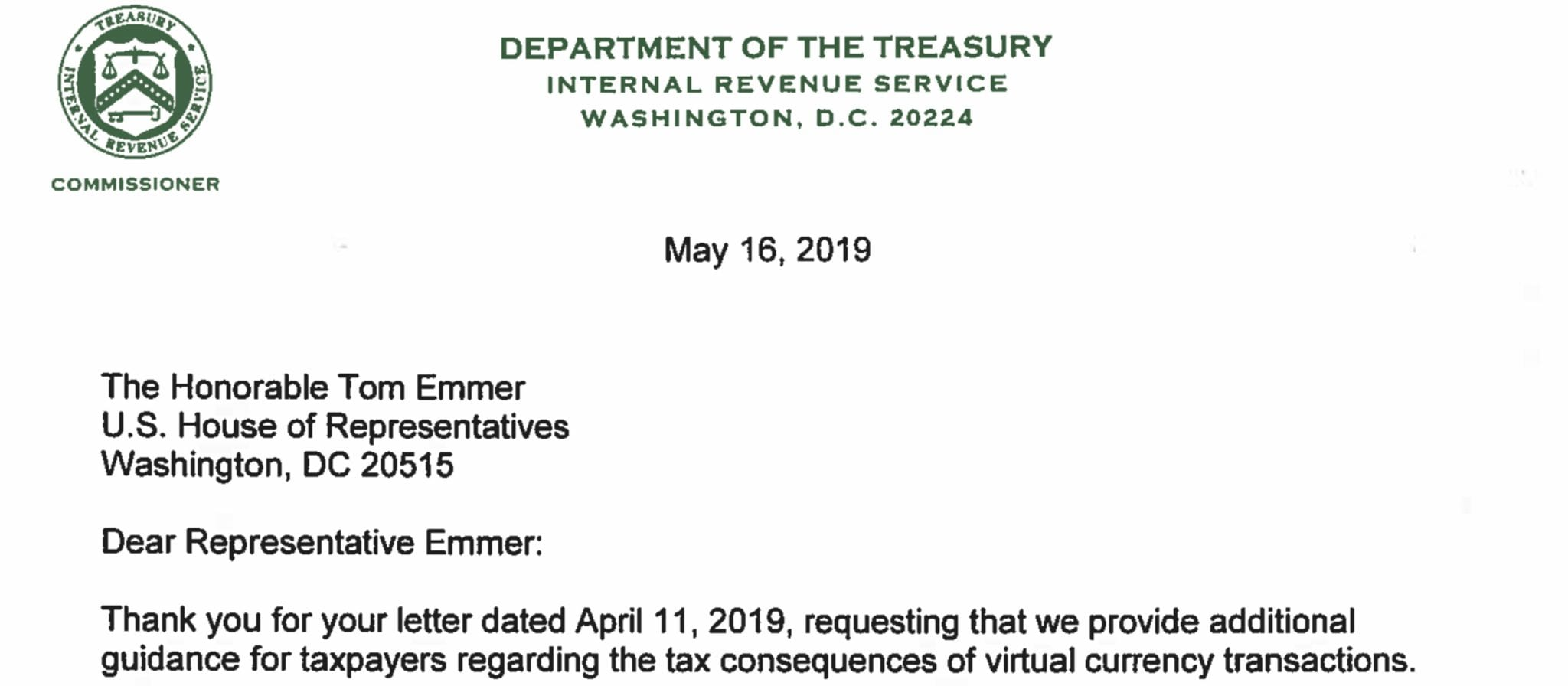 IRS Plans to Issue Guidance on Virtual Currency Taxation