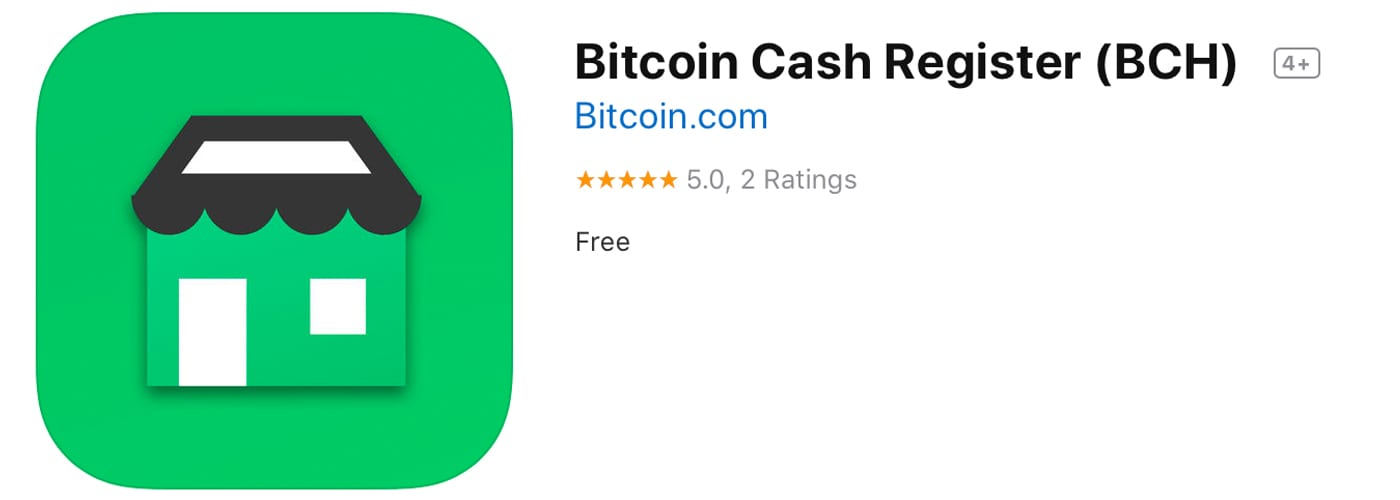 Bitcoin.com Launches Free Bitcoin Cash Register Platform for iOS Devices
