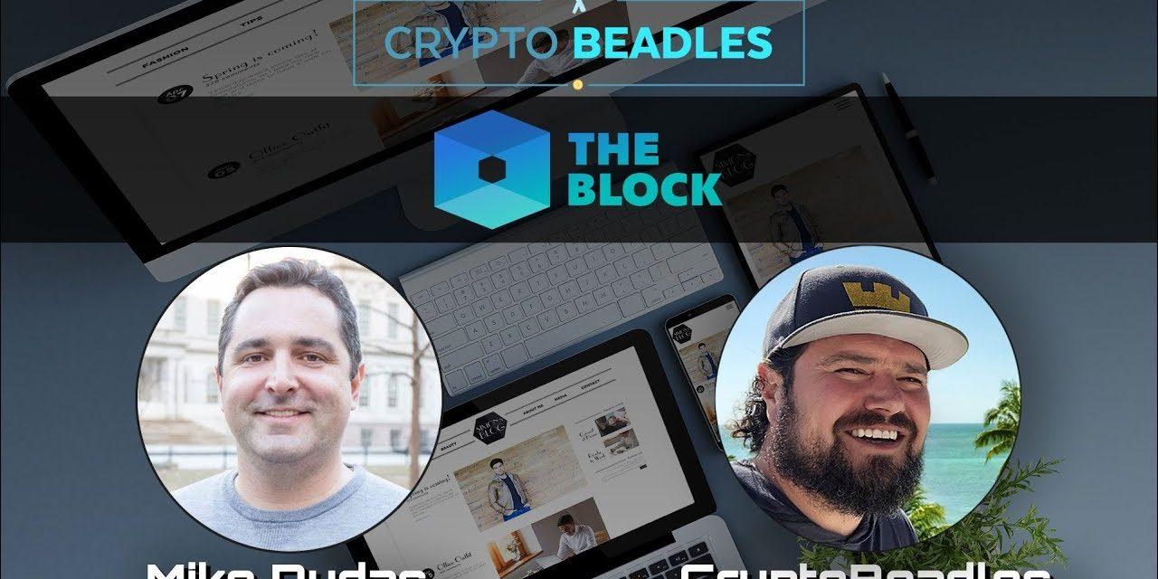 Mike Dudas of The Block | Crypto | Digital Asset News | Blockchain |