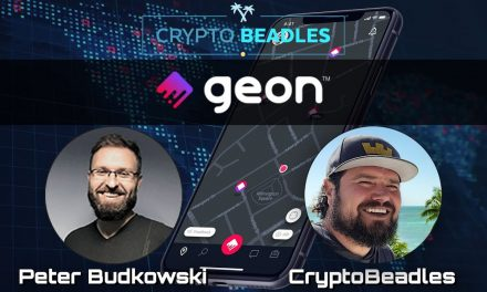 ⎮Geon⎮ Get Paid In Crypto for just getting off your butt :-) ⎮Blockchain⎮