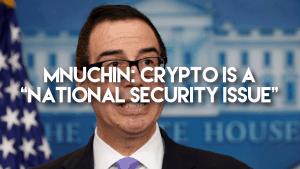 US Treasury Secretary Steven Mnuchin Comes Out Against Crypto