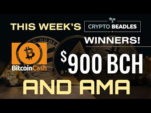 $900 in BCH Giveaway LIVE⎮Leave Bitcoin Alone⎮IOST Updates! Monarch Updates! AMA and More!