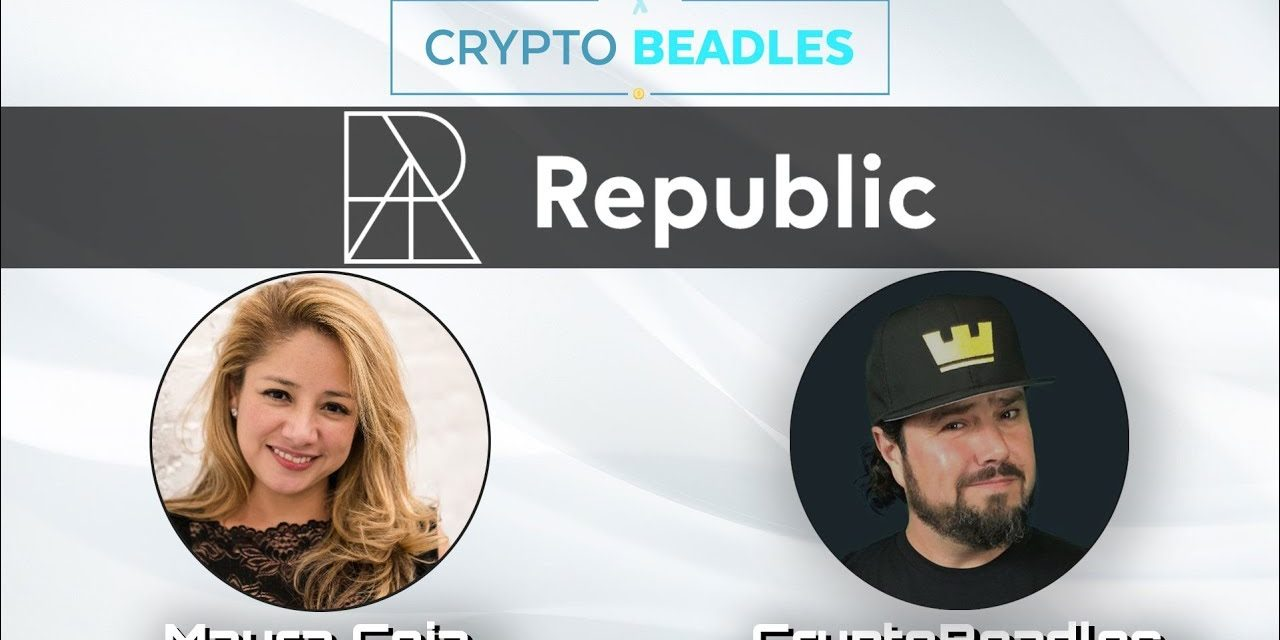 Meet Mayra Ceja, partner at Republic, Crypto and Blockchain investor, her Podcast and more!