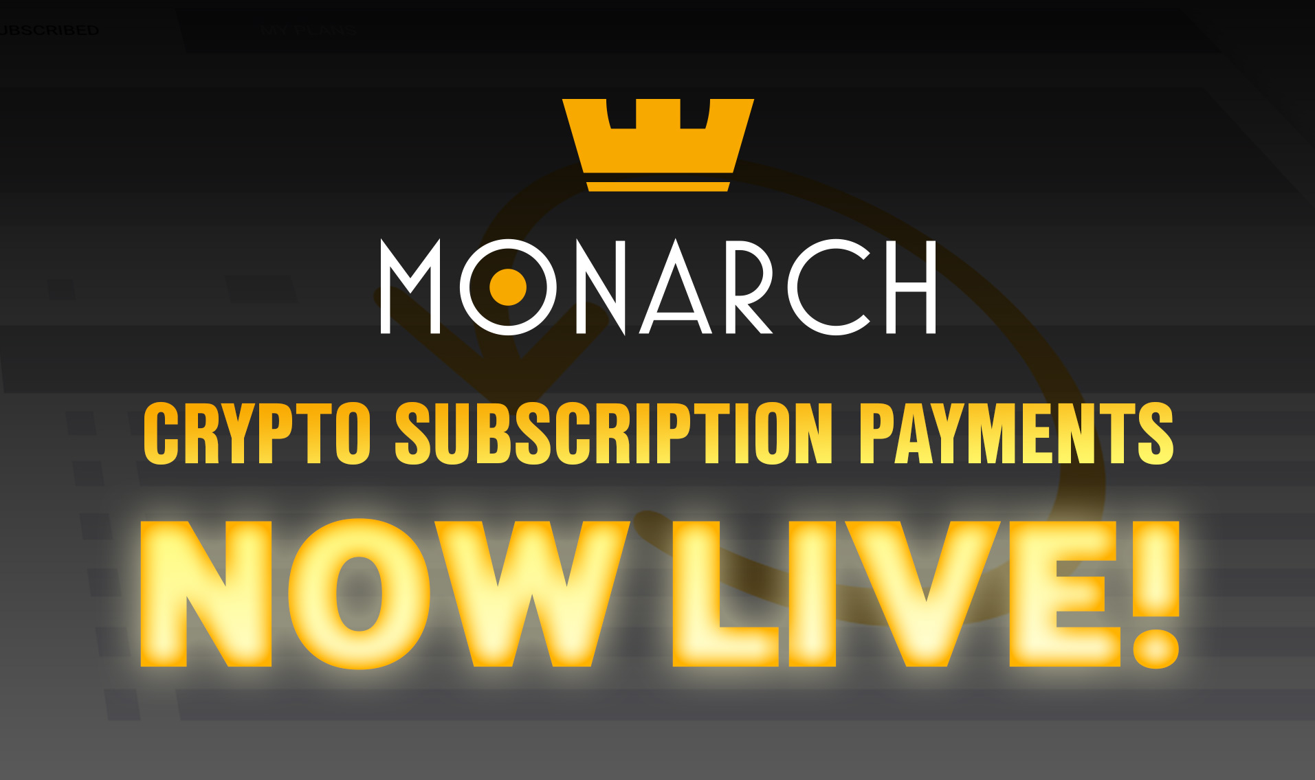 World's First Decentralized Recurring Crypto Payments System Launched by Monarch Blockchain