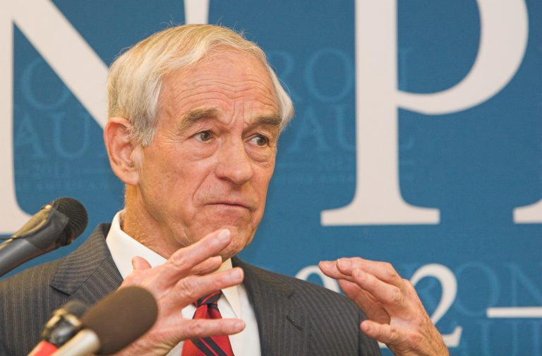 Ron Paul Slams Fednow Payment System and Encourages Crypto Competition