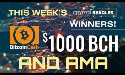 LIVE $1,000 In BCH giveaways, Crypto, Bitcoin, Blockchain AMA and MORE!