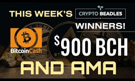 LIVE $900 Bitcoin Cash Giveaway, Crypto and Blockchain AMA and more!