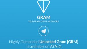 ATAIX Brings Telegram's Unlocked Gram Tokens to the Public