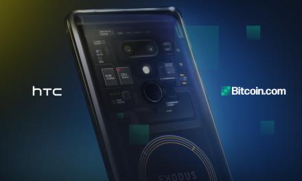 PR: Bitcoin.com Announces Partnership With Telecommunications Manufacturer HTC
