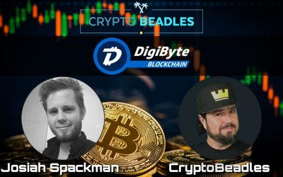Awesome Crypto and Blockchain chat w/DGB update from Digibyte Chief Fun Officer!