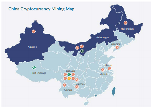 Chinese Bitcoin Miners Migrate North After Wet Season