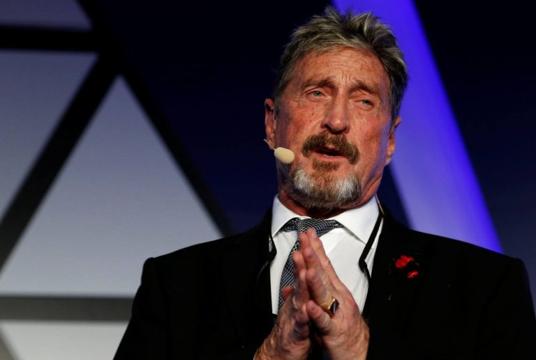 McAfee to Launch Decentralized Token Exchange With No Restrictions