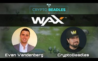 WAX 25,000 Token Giveaway! Blockchain Video Game Dapp Release and More!