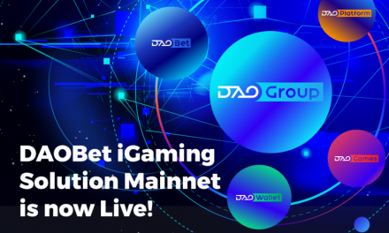 DAOBet iGaming Solution Mainnet is Now Live