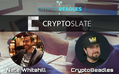 Great chat on Crypto and Blockchain with Nate Whitehill Founder of Cryptoslate