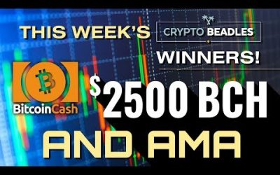 Two Thousand Five Hundred Dollars in LIVE Giveaways! AMA and More!⎮Blockchain⎮Bitcoin⎮Crypto⎮