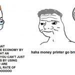 "The US Dollar's climb invalidates ""money printer meme"" and damages Bitcoin narrative"