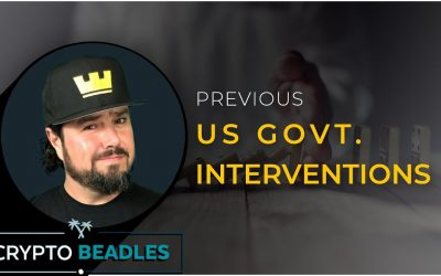 Past Government Interventions in the US and the implications⎮Cares Act⎮PPP⎮SBA⎮PT1