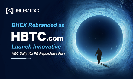 BHEX Rebranded as HBTC Exchange & Launch Innovative HBC 10x PE Repurchase Plan