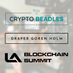 Crypto Beadles Partners with West Coast's Largest Industry Conference Los Angeles Blockchain Summit In October
