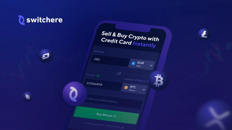 Switchere: Buy Crypto with CC, Pay with Local Banks, Swap and Sell Coins Online