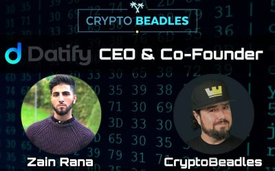 Zain Rana previously of Pharmeum tells us what he's doing with Datify