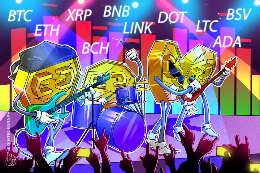 Price analysis 10/23: BTC, ETH, XRP, BCH, BNB, LINK, DOT, LTC, ADA, BSV