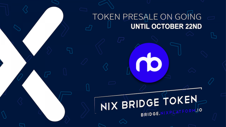 NIX Bridge Token, the Gateway to Private DeFi – Presale Now Live