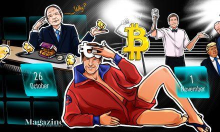 Bitcoin hits $14K, UNI airdrop rejected, scammers target Trump: Hodler's Digest, Oct. 26–Nov. 1