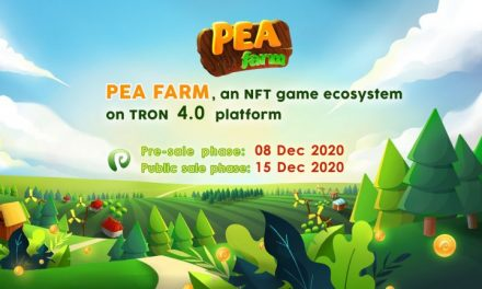 Peafarm – NFT Crypto Games on Tron 4.0 Platform, Airdrop Is Now Live